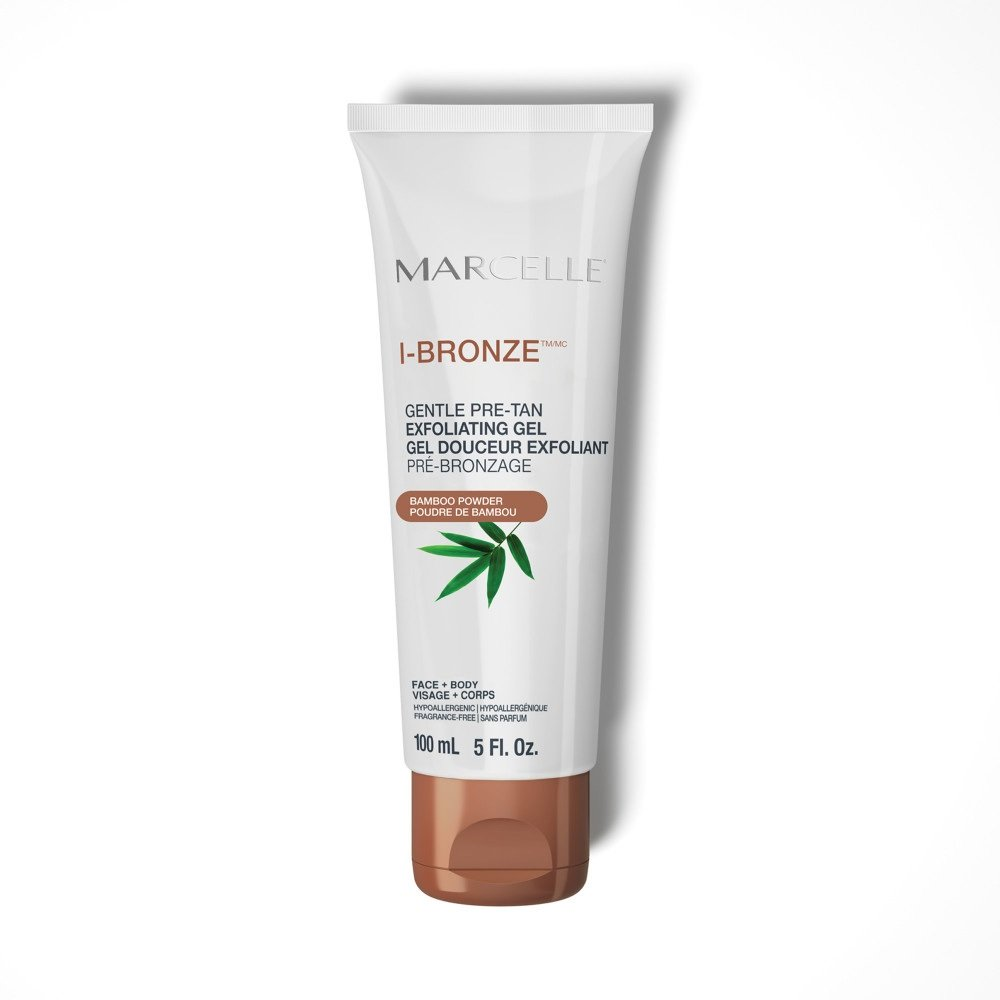 I-Bronze gentle self-tanning exfoliating gel
