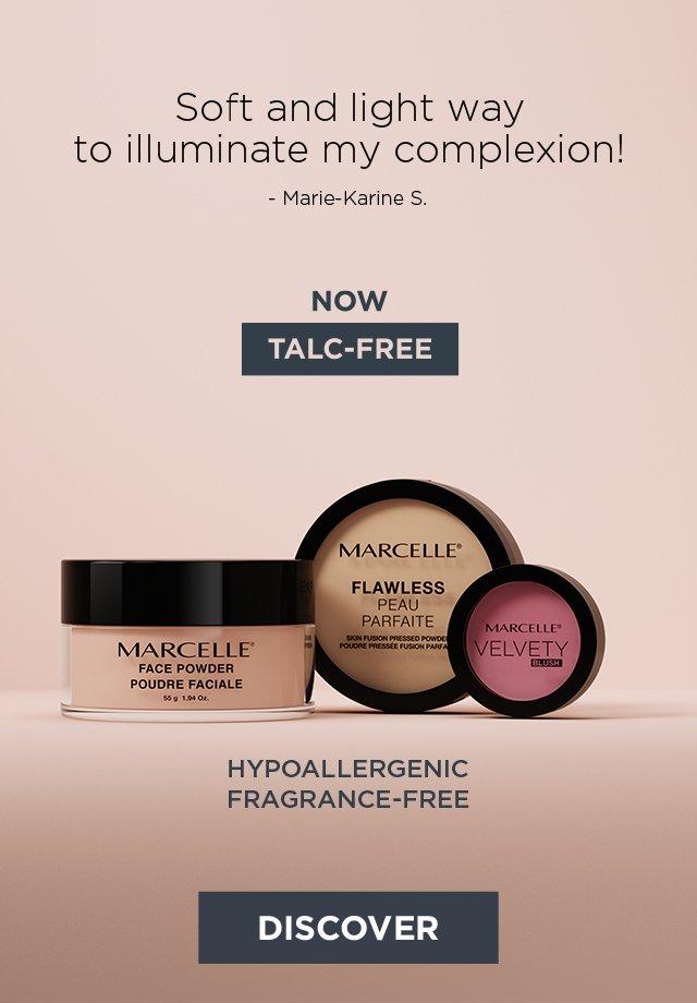talc-free makeup