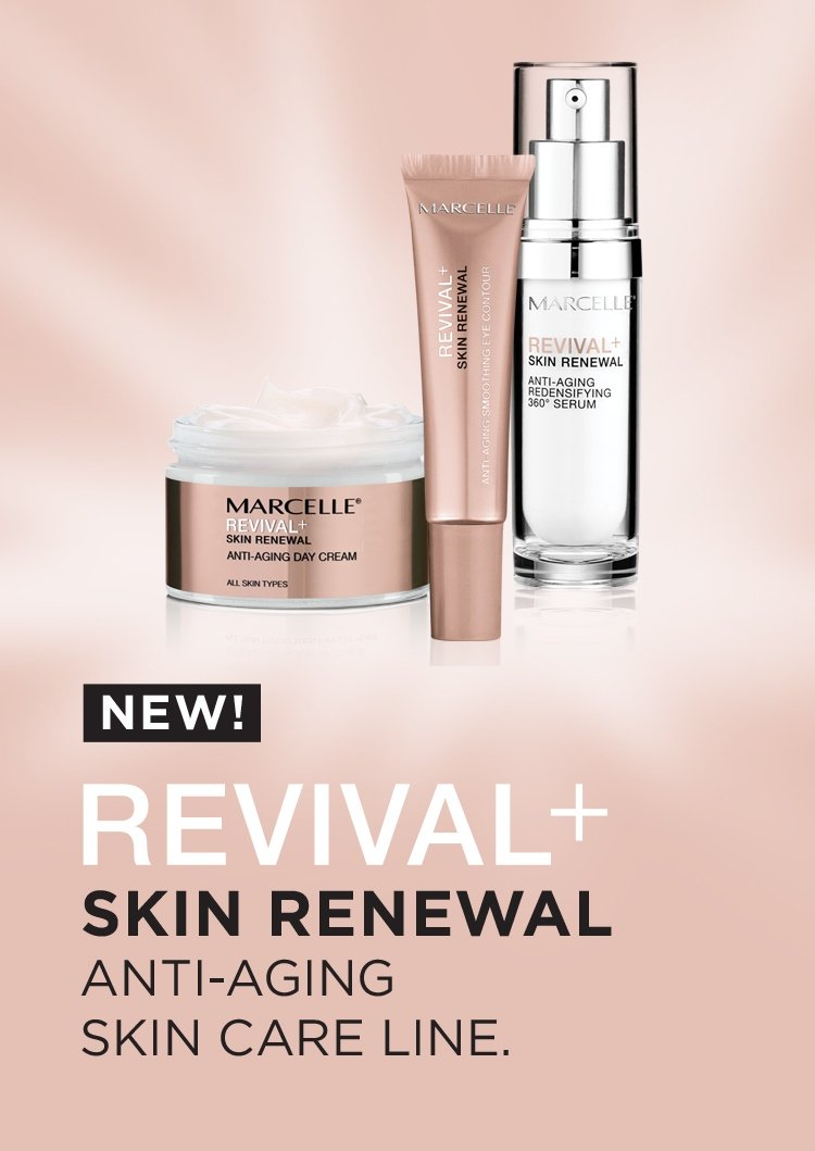New! Revival+ Skin renewal, anti-aging, skin care line.