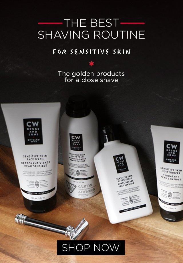 sensitive skin line