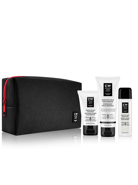 routine peau sensible cw beggs and sons soins pour homme canadiens