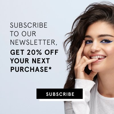 subscribre to our newlsetter and get 20% off your next purchase